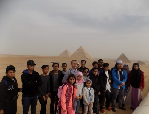 Trip to Pyramids with Nile's Students