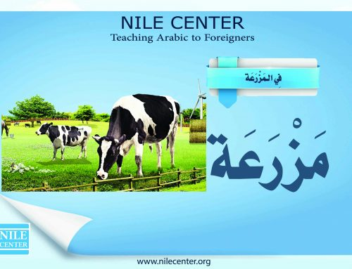 On the Farm in Arabic